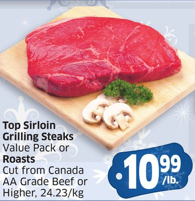 how to cook a top sirloin grilling steak