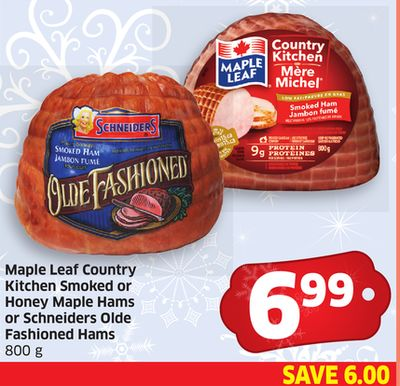 Maple Leaf Country Kitchen Smoked Ham