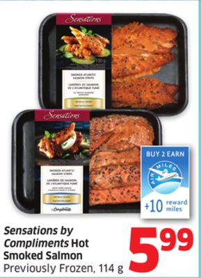 Sensations by compliments hot smoked on sale for Can you freeze smoked fish