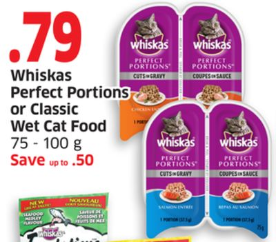Whiskas Wet Cat Food Portions
