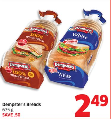 Dempster's Breads - 675 g