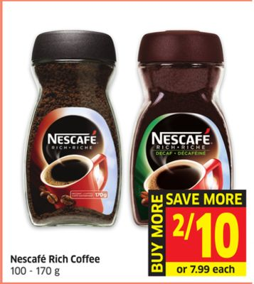 Nescafé Rich Coffee 100 - 170 g
