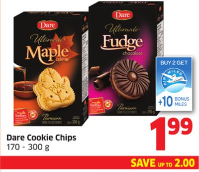 Dare Cookie Chips 170 - 300 g