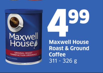 Maxwell House Roast & Ground Coffee 311 - 326 g