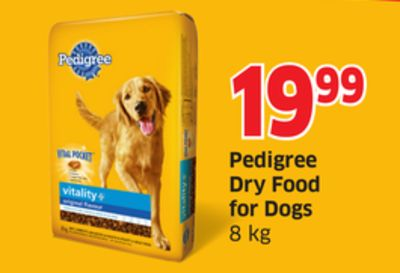 Pedigree Dry Food For Dogs 8 Kg