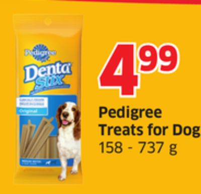 Pedigree Treats For Dogs 158 - 737 g