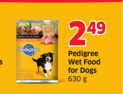 Pedigree Wet Food For Dogs 630 g