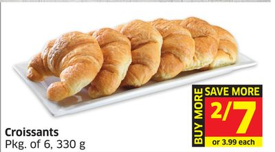Croissants Pkg of 6 - 330 g
