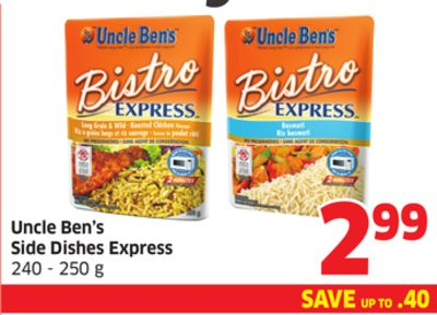 Uncle Ben's Side Dishes Express 240 - 250 g