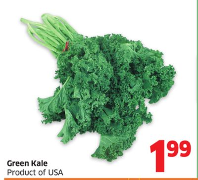 Green Kale Product of USA