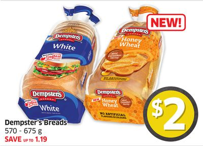 Dempster's Breads 570 - 675 g