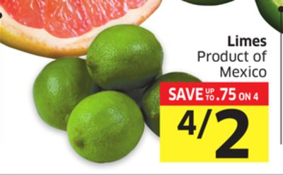 Limes Product of Mexico