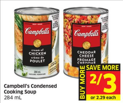 Campbell's Condensed Cooking Soup 284 mL