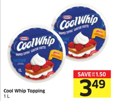 Cool Whip Topping 1 L