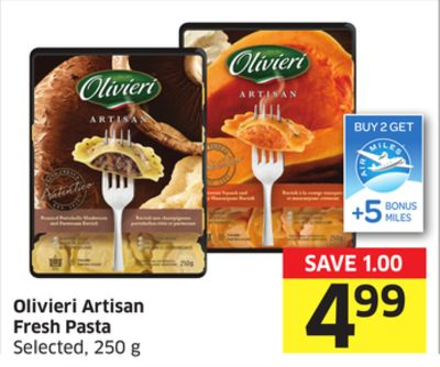 Olivieri Artisan Fresh Pasta Selected - 250 g