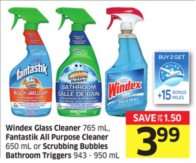 Windex Glass Cleaner 765 Ml On Sale
