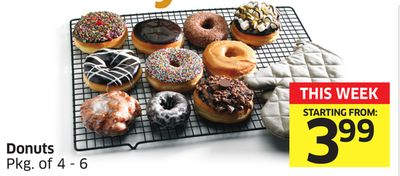Donuts Pkg of 4 - 6