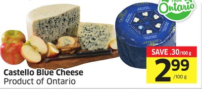 Castello Blue Cheese - Product of Ontario