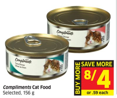 Compliments Cat Food Selected - 156 g