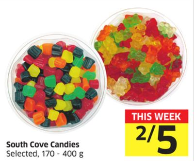 South Cove Candies Selected - 170 - 400 g