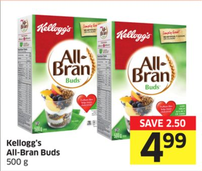 Kellogg's All-bran Buds 500 g