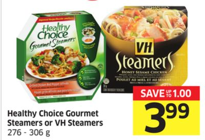 Healthy Choice Gourmet Steamers or VH Steamers 276 - 306 g