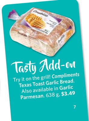 Compliments Texas Toast Garlic Bread 638 g
