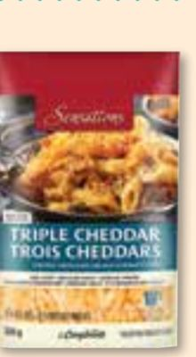 Sensations By Compliments Triple Cheddar Shredded Cheese Blend 320 g