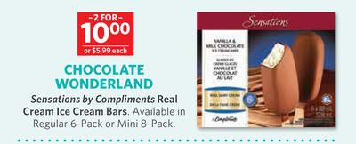 Sensations By Compliments Real Cream Ice Cream Bars