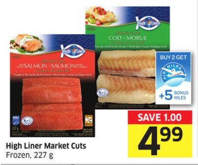 High Liner Market Cuts Frozen - 227 g - 5 Air Miles Bonus Miles