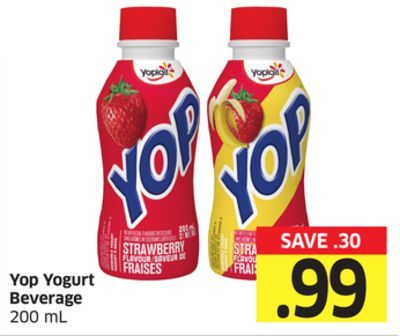 Yop Yogurt Beverage 200 mL