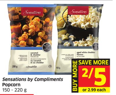 Sensations By Compliments Popcorn 150 - 220 g
