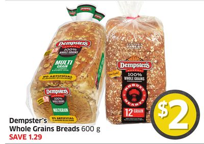 Dempster's Whole Grains Breads 600 g