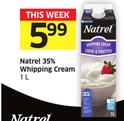 Natrel 35% Whipping Cream 1 L