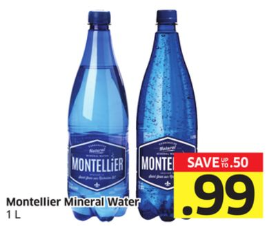 Montellier Mineral Water 1 L