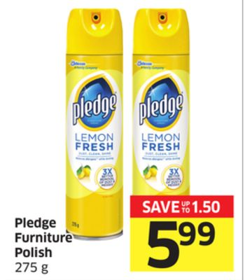 Pledge Furniture Polish 275 g