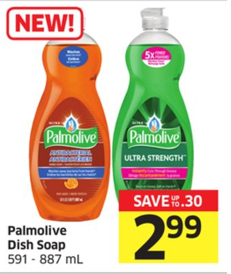 Palmolive Dish Soap 591 - 887 mL