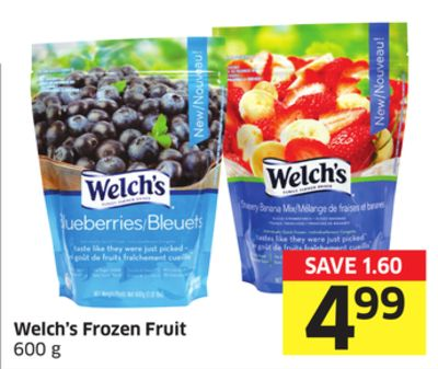 Welch's Frozen Fruit 600 g