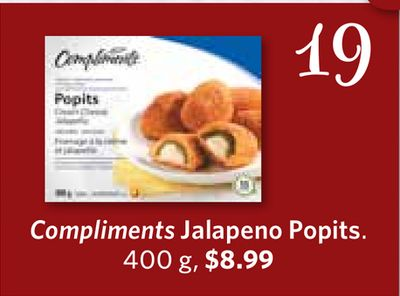 Compliments Jalapeno Popits - 400 g