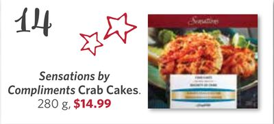 Sensations By Compliments Crab Cakes - 280 g