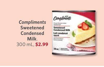 Compliments Sweetened Condensed Milk - 300 mL