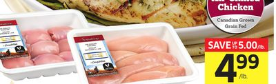 Sensations By Compliments Boneless Chicken Breasts or Thighs Value Pack - 11.00/kg
