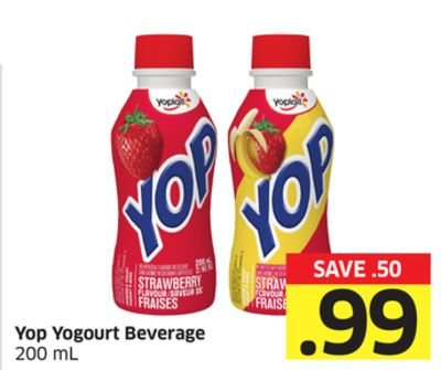 Yop Yogourt Beverage 200 mL