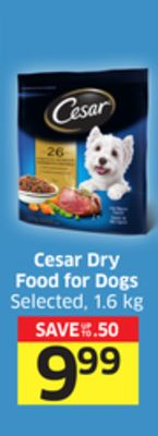 Cesar Dry Food For Dogs Selected - 1.6 Kg