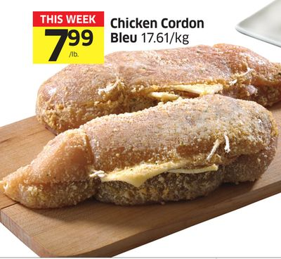 Chicken Cordon Bleu 17.61/kg