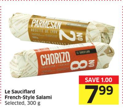 Le Sauciflard French-style Salami Selected - 300 g