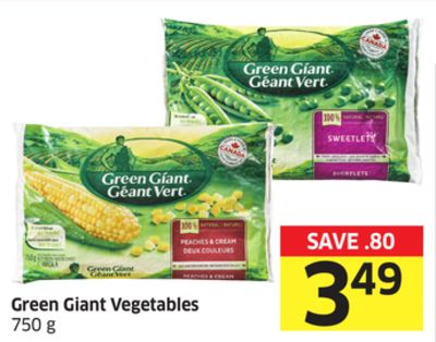 Green Giant Vegetables 750 g