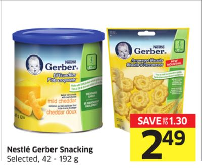 Nestlé Gerber Snacking Selected - 42 - 192 g