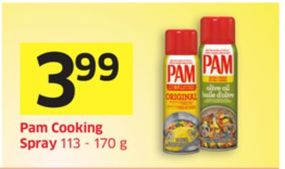 Pam Cooking Spray 113 - 170 g
