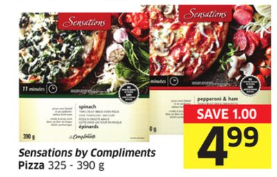 Sensations By Compliments Pizza 325 - 390 g